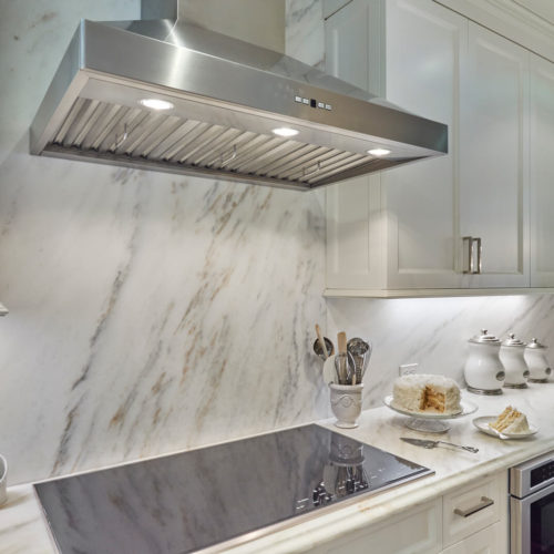 Imperial Danby Marble Backsplash and Counter tops