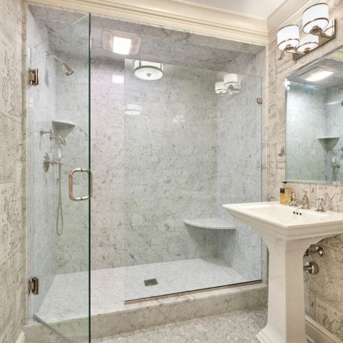 Cararra Herringbone Mosaic Floor Cararra Marble Wall Tiles
