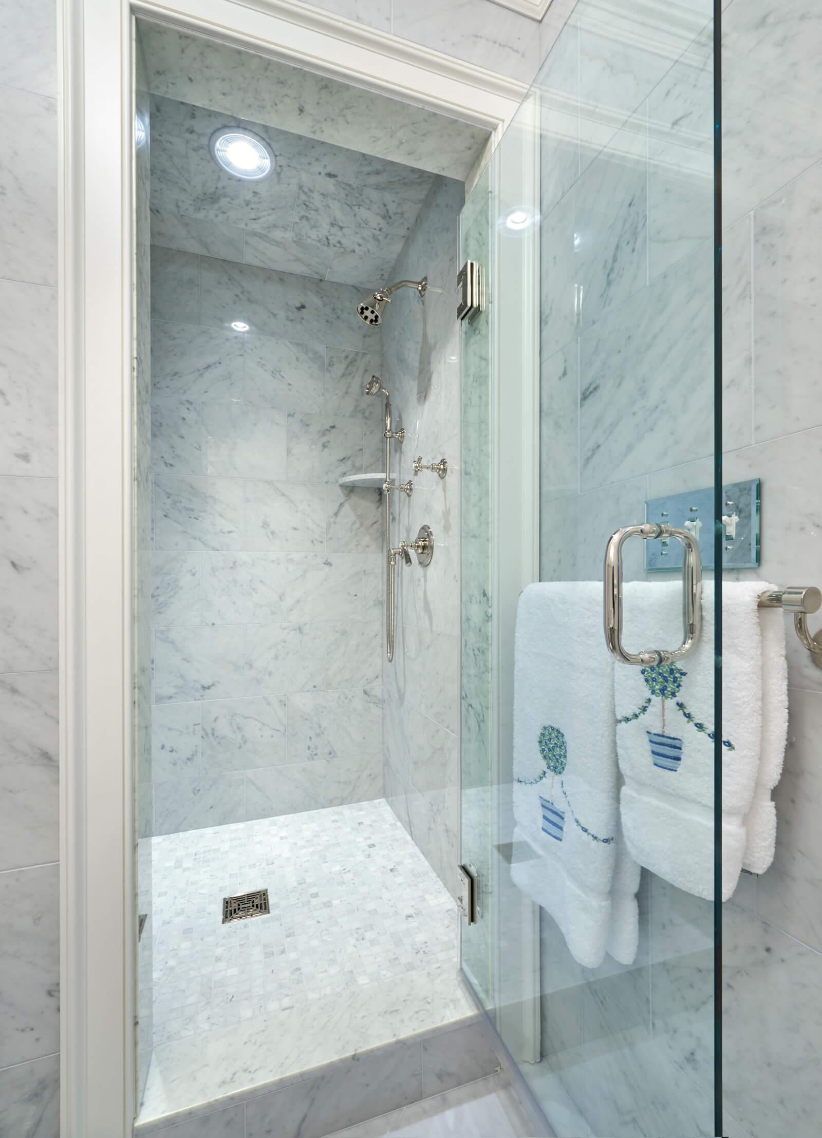Cararra Marble Wall tile Cararra Mosaic Floor