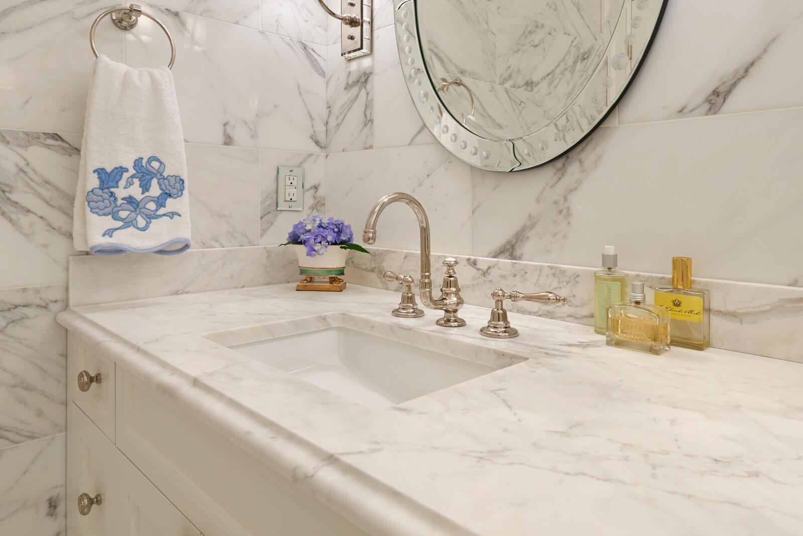 Calacatta Marble Vanity Top
