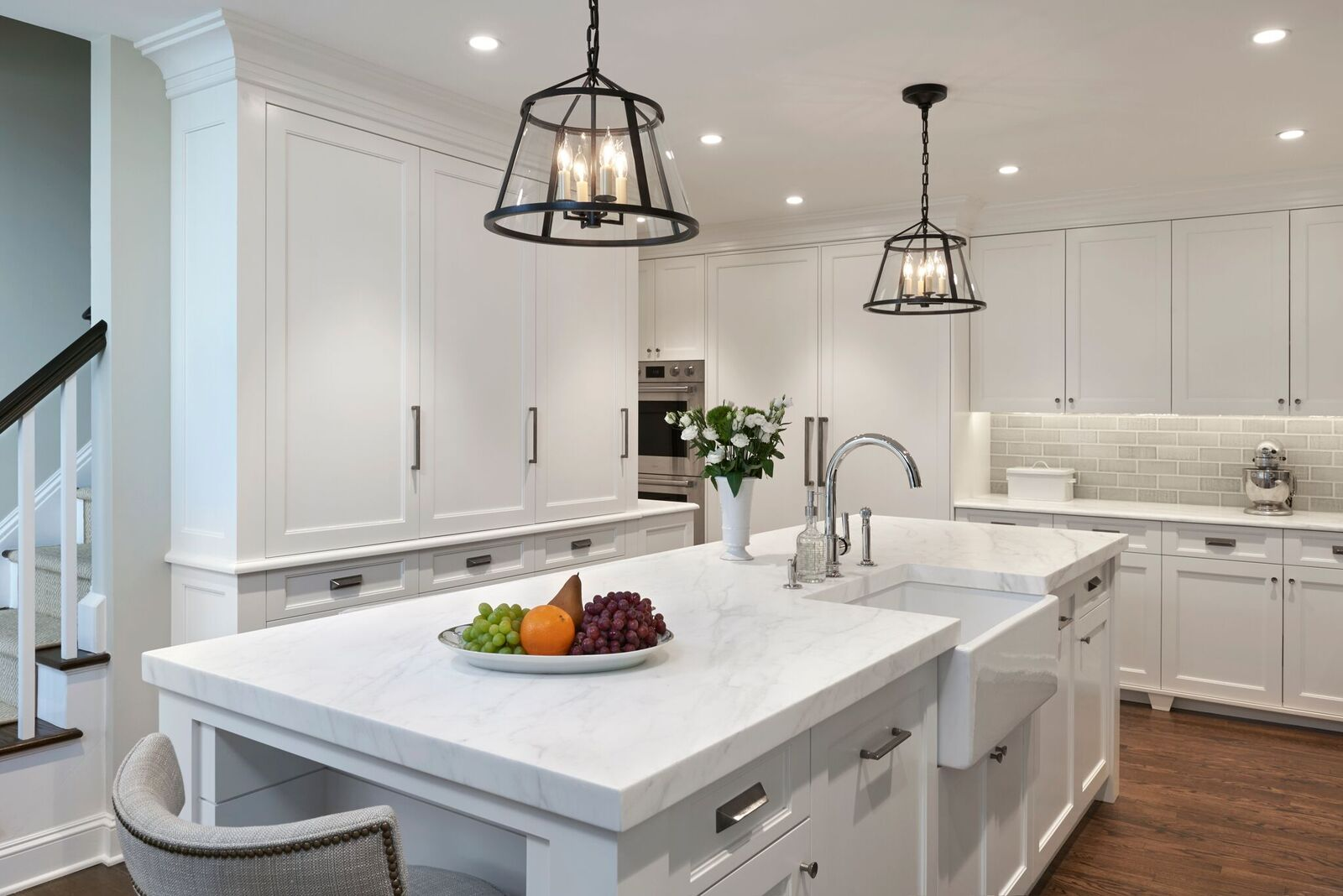Calacatte Marble Countertops